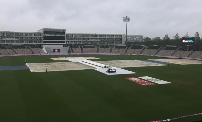 India vs New Zealand WTC final Day-1 postponed due to rains