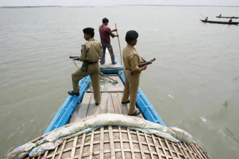 BSF thwarted smuggling attempt through Ichamati river
