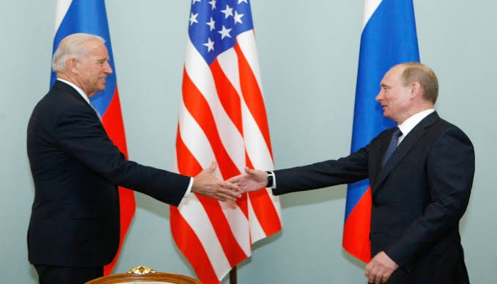 Putin & Biden 'Face to Face' at the Geneva Summit