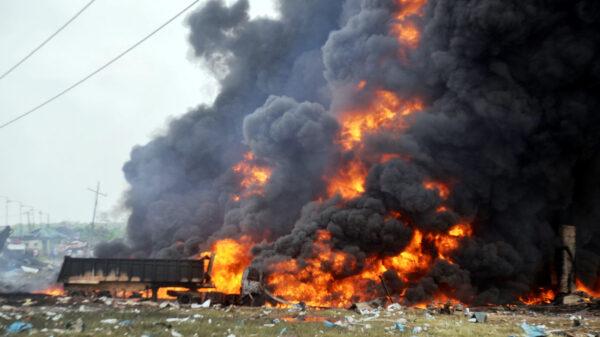 """Fireball"" from fuel tanker explosion killed 13 in Kenya"