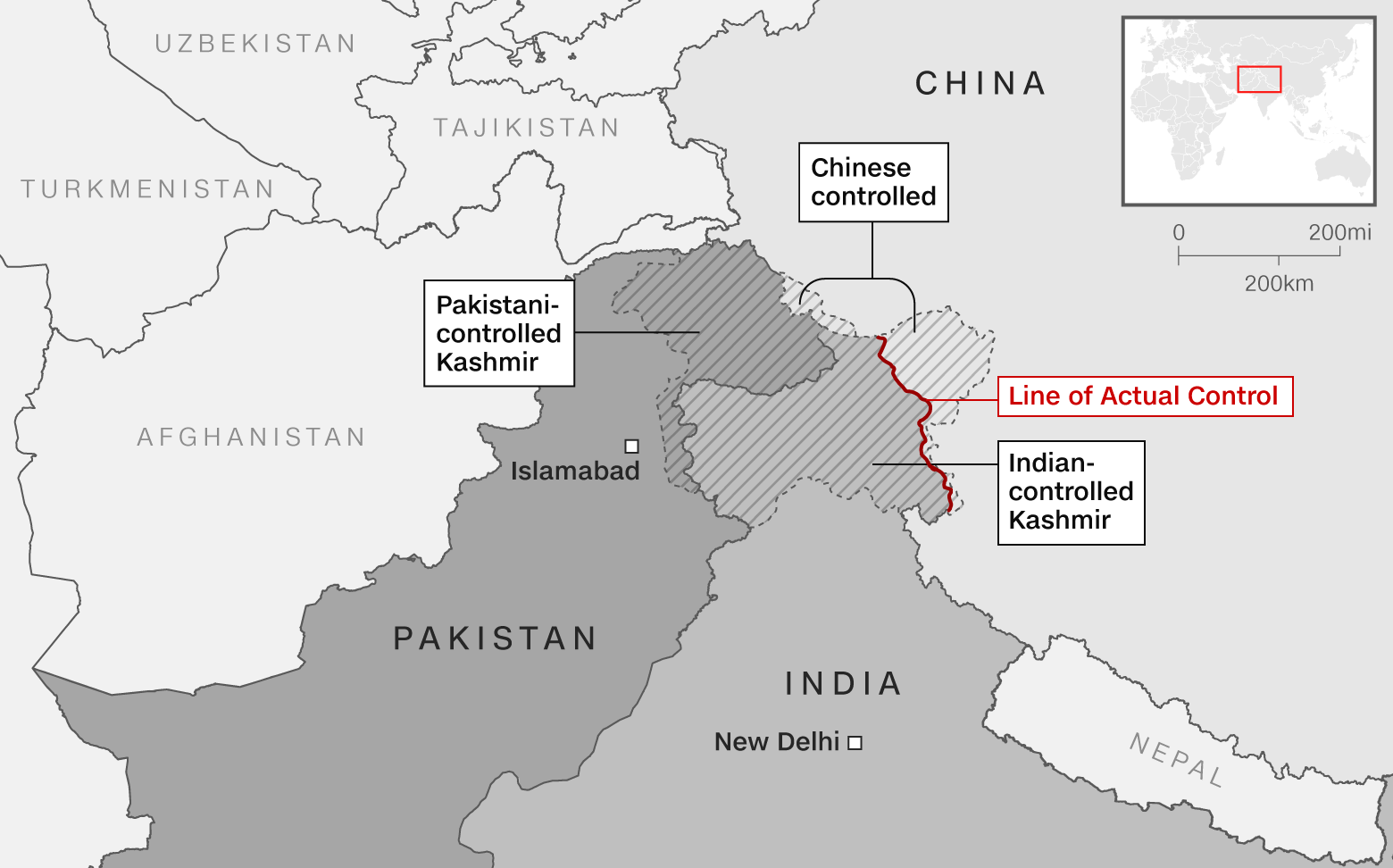 Chinese ambassador claims India-China 'disengaged' from stand-off