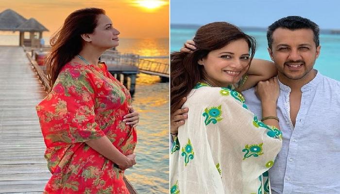 Bolly Actress Dia Mirza & Vaibhav Rekhi's Lil Bundle of Joy is here