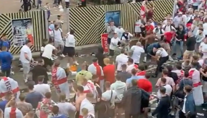 Euro 2020: Furious England Supporters Resort to Racial Abuse