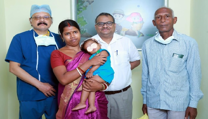 11-Month-Old gets a new lease of life at Medica Superspecialty Hospital