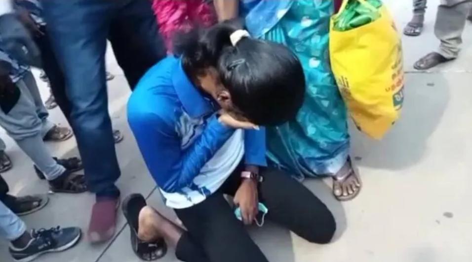Indian Olympian breaks down on hearing sister's death