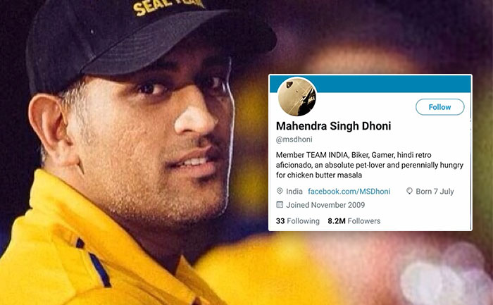 Twitter removes 'verified badge' from MS Dhoni's account